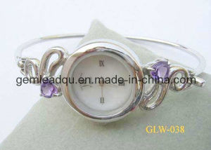 Fashion Silver Bangle Watch (006)