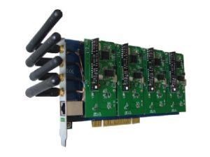 4 Ports GSM CDMA PCI Asterisk Card Asterisk Telephony Card (GC400P) pictures & photos