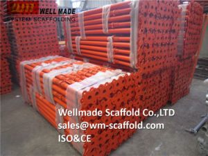 Adjustable Steel Props to UAE Scaffolding and Formwork pictures & photos