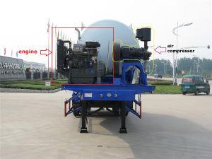 Sinotruk 3-Axle 40 Cbm Bulk Cement Tanker Semi Trailer pictures & photos
