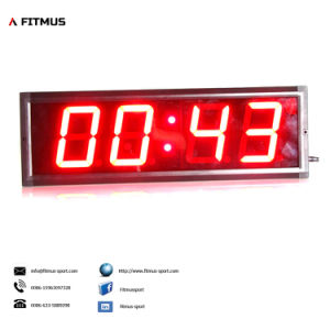 Crossfit Interval Timer 4 Digit Programmable Timer Boxing Timer Workout Timer Gym Timer Exercise Timer pictures & photos