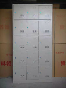 15 Doors Lockable Storage Locker pictures & photos