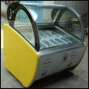 Napoli Trays Ice Cream Display Freezer pictures & photos