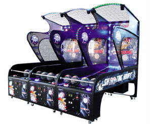 Arcad Game Street Basketball Arcade Game Machines (Crazy Sho NC-RM03) pictures & photos