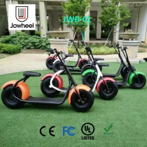 Fashion Harley Style Electric Scooter with Big Wheels for Cool Riding
