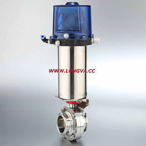 Stainless Steel Butterfly Valve Pneumatic Actuator pictures & photos