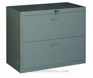 Lateral File Cabinet with 2 Drawers (slim model) (T1-LC02) pictures & photos