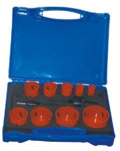 13 PC BiMetal Hole Saw Kits (WR-014012)