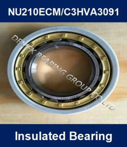SKF Insulated Bearing Cylindrical Roller Bearing Nu210 Ecm/Hva3091 pictures & photos