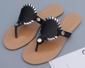 New Design Lady Monogrammed Disc Sandals pictures & photos