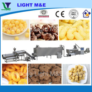 Automatic Inflating Core Filled Corn Puff Food Snack Extruder pictures & photos