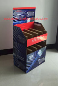 Vertified Cardboard Display Manufacturer, Floor Display Stand with Cmyk Printing, Customized Display Stand, Shelf Display pictures & photos