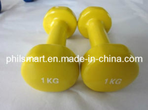 Hotsell Vinyl Gym Dumbbells pictures & photos