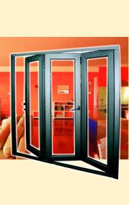 Aluminium Folding Door with Multip Sash pictures & photos