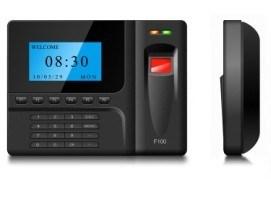 Fingerprint T&A and Acess Control System (F100)