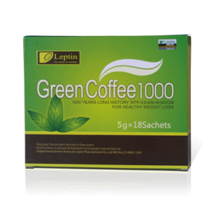 Leptin Green Slimming Coffee 800 Weight Loss pictures & photos
