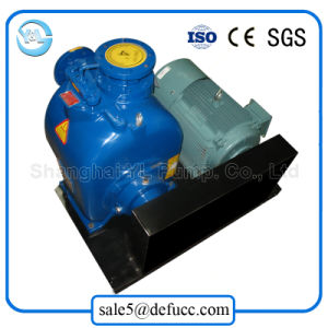 Non Clog Self Priming Electric Motor Pump for Sewage pictures & photos