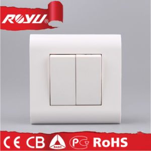 Mosaic Series 2 Gang Push Button Switch pictures & photos