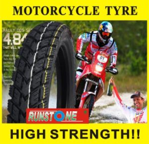 Front&Back off Road Pattern Motorcycle Tyre 3.00-17 3.00-18 pictures & photos
