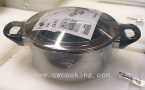 5PCS Stainless Steel Cookware Set Ikea′s Item pictures & photos