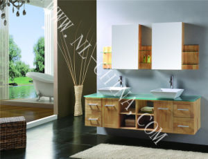 Waterproof Home Furniture MDF Wooden Bathroom Cabinet Vanity pictures & photos