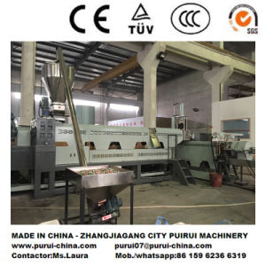 Plastic Extruder Pelletizing System for Regrinds Material pictures & photos