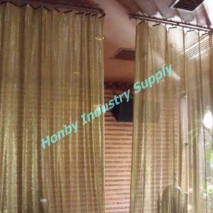 Metal Aluminum Mesh Fabric Room Divider (L30511CC) pictures & photos