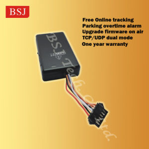 Bsj-K6 Quad Band GPS Tracker with Free Web Software