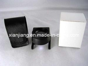 LED Light Jewel Loupe and Linen Tester, High Power, Metal Frame