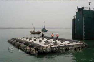 Rubber Salvage Pontoon for Ship Launching pictures & photos