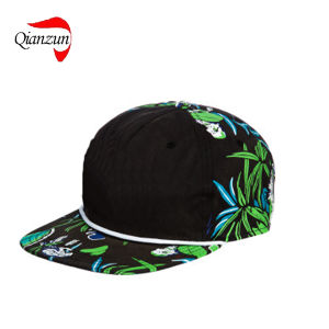 Customed Tropical Plant Fitted Snapback Caps (LWC-245) pictures & photos
