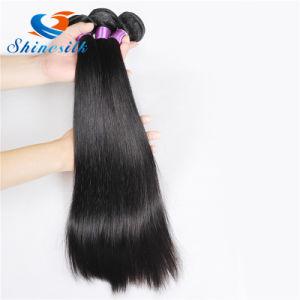 Brazilian Straight Virgin Hair Cheap Brazilian Human Hair Silky Straight Weave pictures & photos
