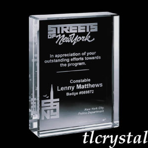 Crystal York Vertical Award (TL09080609)