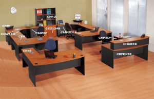 Office Desk / Office Furniture / Melamine Furniture / Desks of Desk System (Workstation-7)