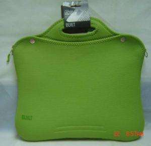Neoprene Laptop Case/ Laptop Bag/ Laptop Sleeve - Green