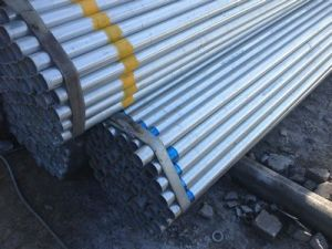 Galvanized Steel Round Pipe with High Zinc Coating pictures & photos
