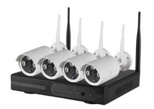 4CH SD Card P2p Wireless WiFi Surveillance NVR Kits pictures & photos