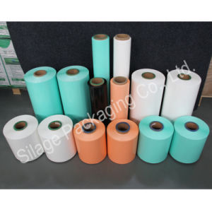 Black/Orange Silage Wrap Film, 500mm*25mic*1800m, Recycle 100%LLDPE Film for Swiss pictures & photos