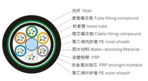 Direct Buried Non-Metallic Outdoor Fiber Optic Cable -GYFTY53 pictures & photos
