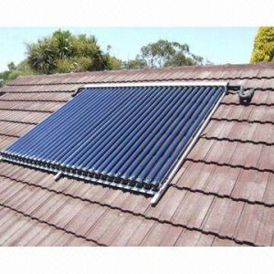 Pressurized Solar Collector with Heat Pipe pictures & photos