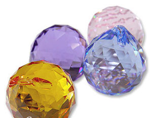 Crystal Chandelier Pendants -- Crystal Ball
