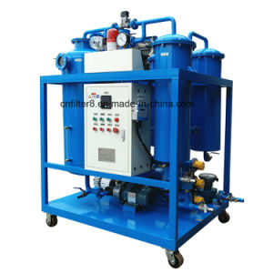 Used Vacuum Steam Gas Turbine Lube Oil Purifier Machine (TY-50) pictures & photos