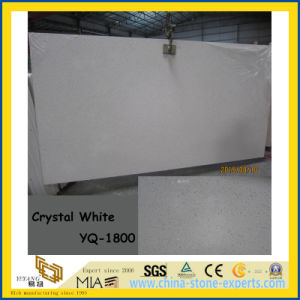 Hot Product Crystal White Quartz Stone Slabs (YQ-1800) pictures & photos