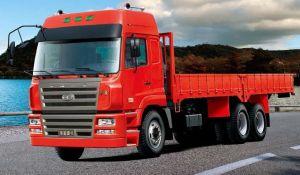 Camc 6*4 Diesel Van Wagon Cargo Truck
