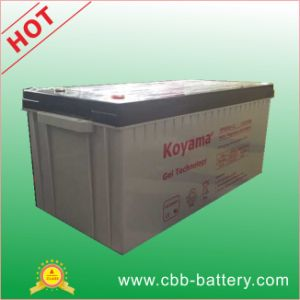 12V200ah Gel Battery Marine Gel Battery, Solar Gel Battery, Deep Cycle Gel Battery, Lead Acid Battery pictures & photos