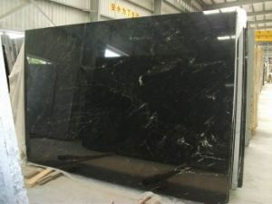 SGS Qualified Vera Black Marble Slab