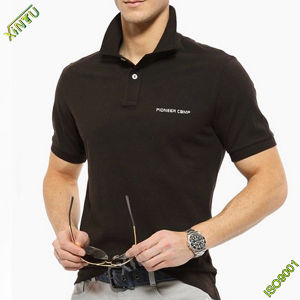 Wholesale Plain Short Sleeve Cotton Polo Shirt pictures & photos