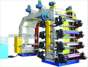 High Speed Film 8 Color Flexographic Printing Machine (HYT-8600-81600) pictures & photos