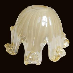 Handmade Glass/Handcraft Glass Lamp Shade (P194J1)