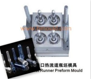 4 Cavities Hot Runner Pet Preform Mould (HONGHUI0073)